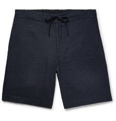 Freemans Sporting Club Linen Drawstring Shorts