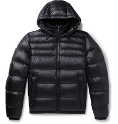 Hugo Boss Quilted-Shell Hooded Down Jacket