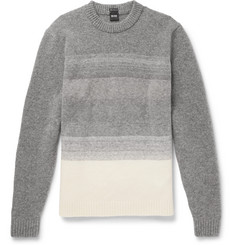 Hugo Boss Dégradé Virgin Wool-Blend Sweater