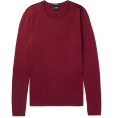 Hugo Boss Slim-Fit Virgin Wool Sweater
