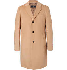 Hugo Boss Virgin Wool and Cashmere-Blend Coat