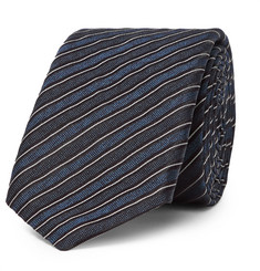 Hugo Boss 6cm Striped Silk-Jacquard Tie