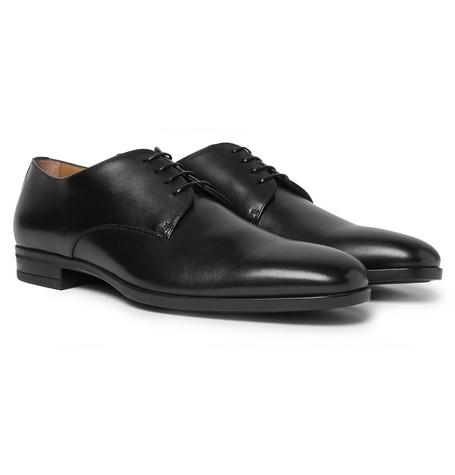 Kensington Leather Derby Shoes