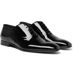Hugo Boss - Patent-Leather Oxford Shoes