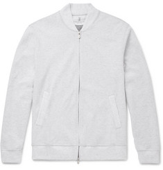 Brunello Cucinelli Cotton-Blend Jersey Zip-Up Sweatshirt