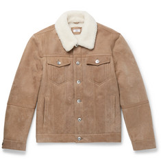 Brunello Cucinelli Shearling Trucker Jacket
