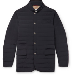 Brunello Cucinelli - Slim-Fit Quilted Shell Down Jacket