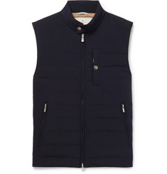 Brunello Cucinelli - Slim-Fit Quilted Shell Down Gilet