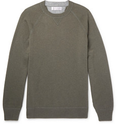 Brunello Cucinelli Wool, Cashmere and Silk-Blend Sweater