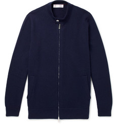 Brunello Cucinelli Cashmere Zip-Up Cardigan
