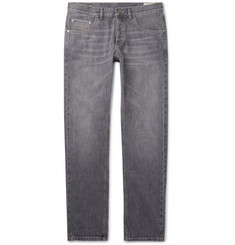 Brunello Cucinelli - Washed Selvedge Denim Jeans