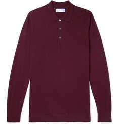 Brunello Cucinelli - Knitted Cotton Polo Shirt