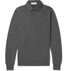 Brunello Cucinelli Cashmere Polo Shirt