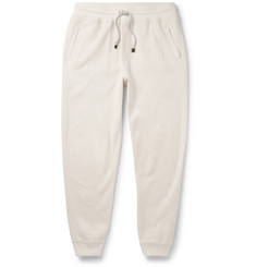 Brunello Cucinelli Slim-Fit Tapered Cashmere-Blend Sweatpants