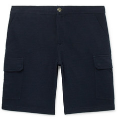 Brunello Cucinelli Cotton-Blend Cargo Shorts