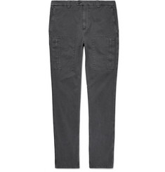 Brunello Cucinelli - Stretch-Cotton Cargo Trousers