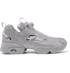 Vetements + Reebok Instapump Fury Reflective 3M Sneakers