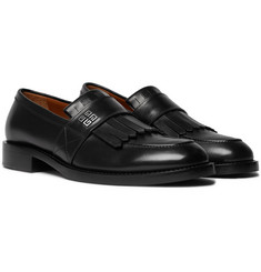 Givenchy Cruz Leather Kiltie Loafers