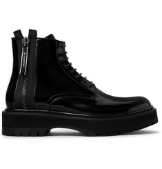Givenchy Camden Patent-Leather Boots