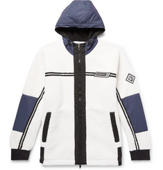 Givenchy Shell-Trimmed Fleece Jacket