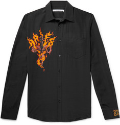 Givenchy Printed Voile Shirt
