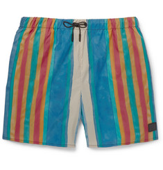 Acne Studios Perry Mid-Length Striped Swim Shorts
