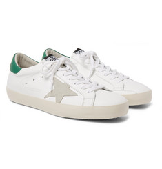 Golden Goose Deluxe Brand - Superstar Leather and Suede Sneakers