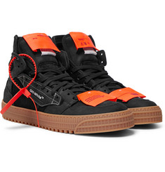 Off-White 3.0 Off Court Nubuck and Suede Sneakers