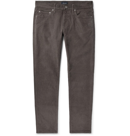 Slim Fit Stretch Cotton Corduroy Trousers by J.Crew