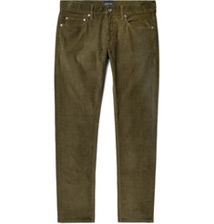 J.Crew Slim-Fit Stretch-Cotton Corduroy Trousers