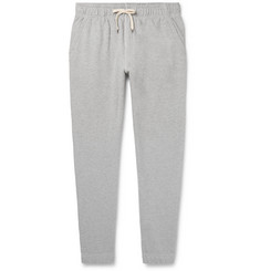 J.Crew Tapered Mélange Loopback Cotton-Jersey Sweatpants