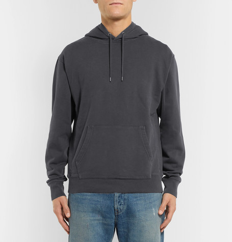 Loopback Cotton Jersey Hoodie by J.Crew