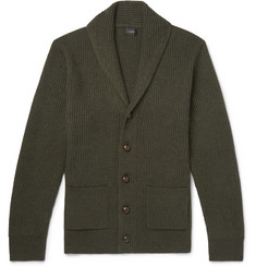 J.Crew Slim-Fit Shawl-Collar Wool-Blend Cardigan