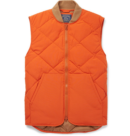Nordic Quilted Shell Gilet by J.Crew