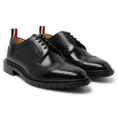 Thom Browne Spazzolato Leather Brogues
