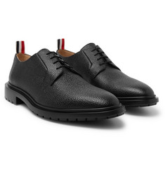Thom Browne Pebble-Grain Derby Shoes