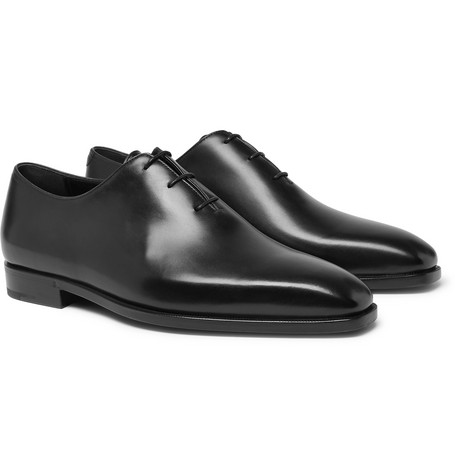 Berluti Alessandro DÉMesure Whole-Cut Leather Oxford Shoes In Black