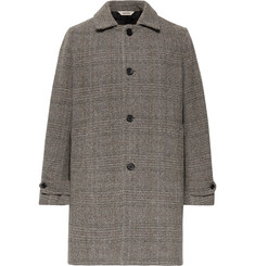 Aspesi Herringbone Wool Coat