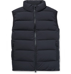 Aspesi Quilted Nylon Down Gilet