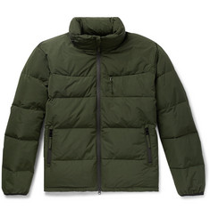 Aspesi - Quilted Shell Hooded Down Jacket