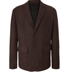 Margaret Howell Brown Mélange Harris Tweed Blazer