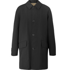 Margaret Howell Wool and Cotton-Blend Gabardine Raincoat