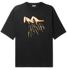 Lanvin Oversized Printed Cotton-Jersey T-Shirt