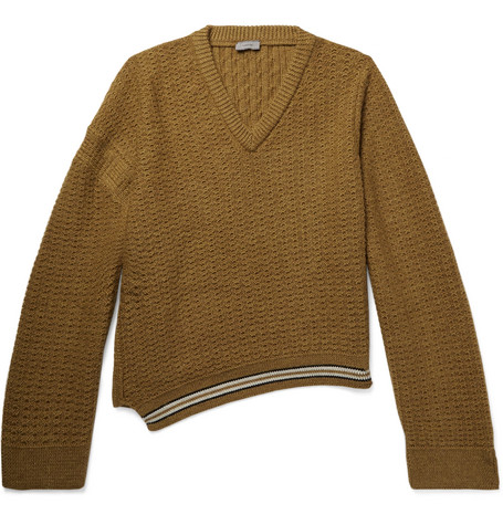 Oversized Wool And Alpaca Blend Sweater by Lanvin