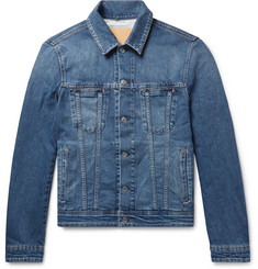 Acne Studios Pass Slim-Fit Stretch-Denim Jacket