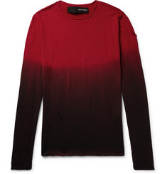 Isabel Benenato Dégradé Virgin Wool Sweater