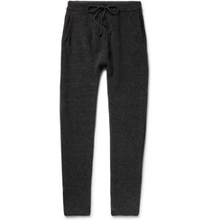 Isabel Benenato Tapered Merino Wool-Blend Sweatpants