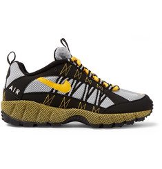 Nike Air Zoom Humara Rubber and Suede-Trimmed Mesh Sneakers