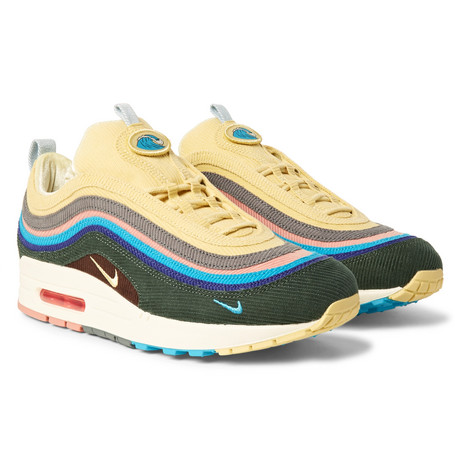 Air Max 1/97 Vf Sw Corduroy Sneakers by Nike