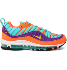 Nike Air Max 98 QS Suede and Ripstop Sneakers